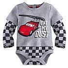 Lightning McQueen Disney Cuddly Bodysuit for Baby