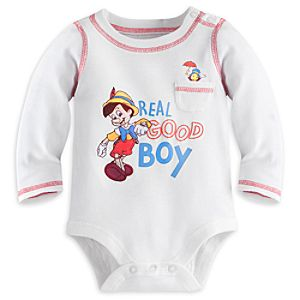 Pinocchio Disney Cuddly Bodysuit for Baby