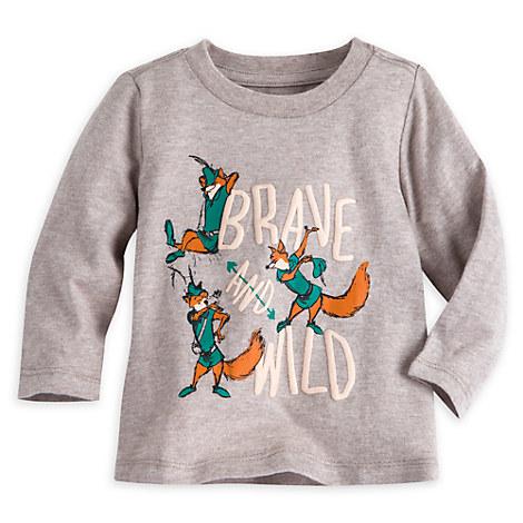 Robin Hood Long Sleeve Tee for Baby