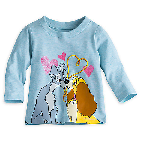 Lady and the Tramp Long Sleeve Tee for Baby