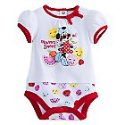 Minnie Mouse ''Always Sweet'' Disney Cuddly Bodysuit for Baby
