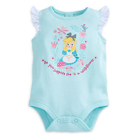 Alice in Wonderland Disney Cuddly Disney Bodysuit for Baby