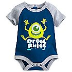 Mike Wazowski Disney Cuddly Bodysuit for Baby