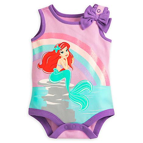Ariel Disney Cuddly Bodysuit for Baby