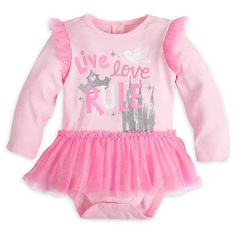 Disney Princess Long Sleeve Disney Cuddly Bodysuit for Baby