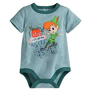 Peter Pan Disney Cuddly Bodysuit for Baby