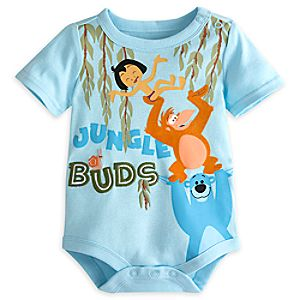 The Jungle Book Disney Cuddly Bodysuit for Baby
