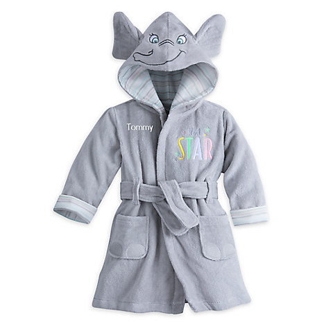 Dumbo Robe for Baby - Personalizable