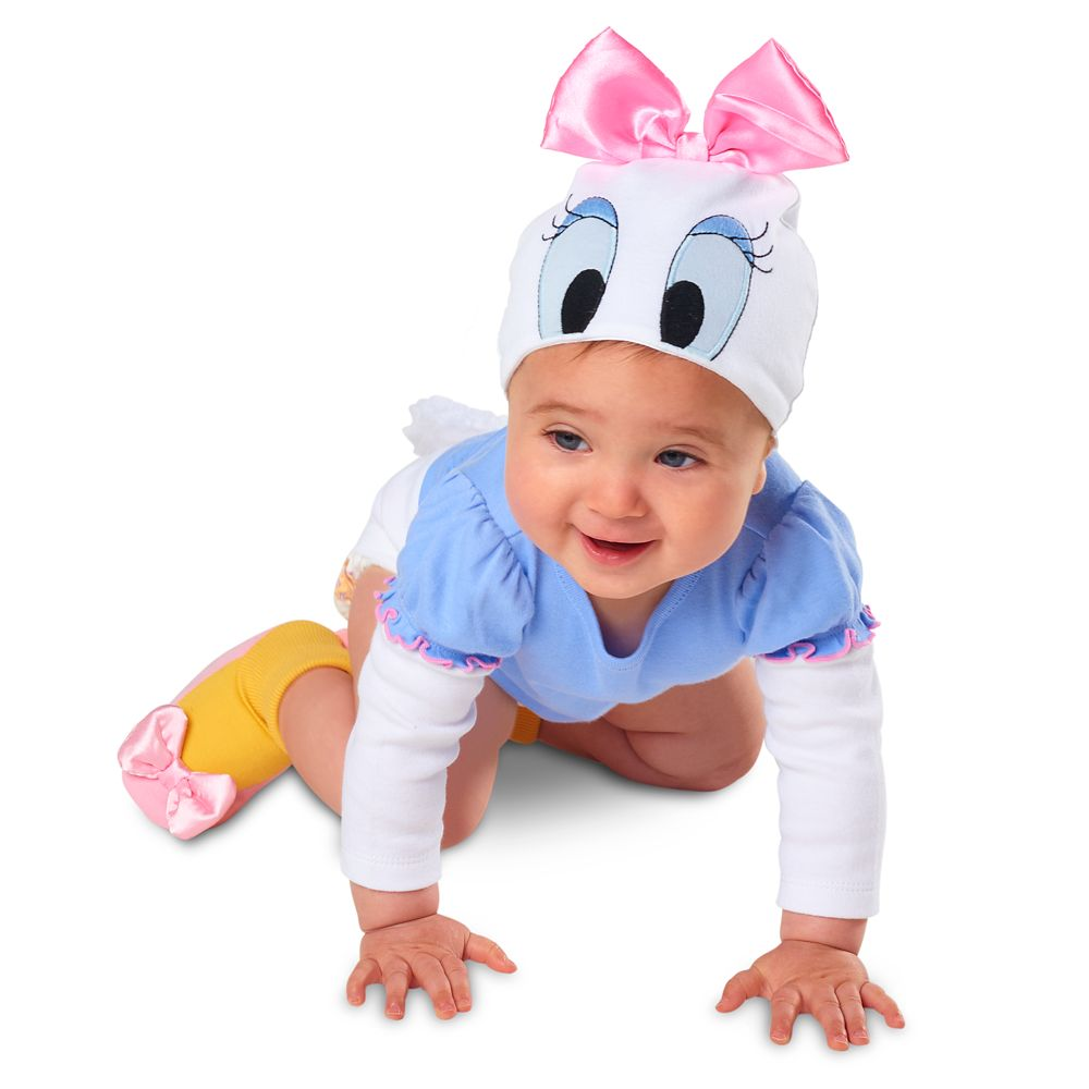 Daisy Duck Bodysuit Costume Set for Baby – Personalizable