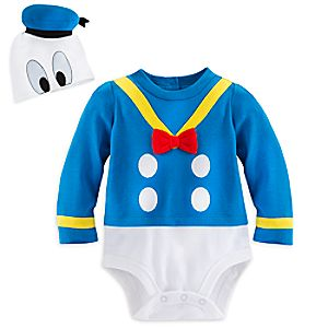 Donald Duck Bodysuit Costume Set for Baby - Personalizable
