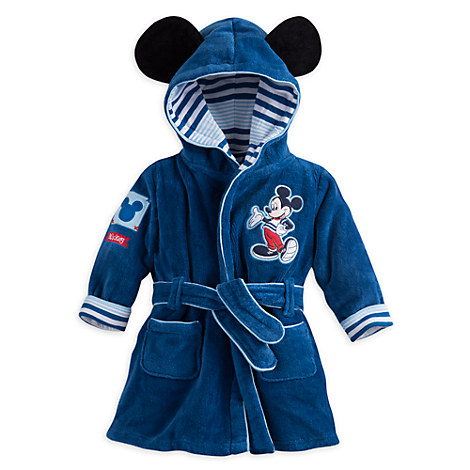 Mickey Mouse Bath Robe for Baby