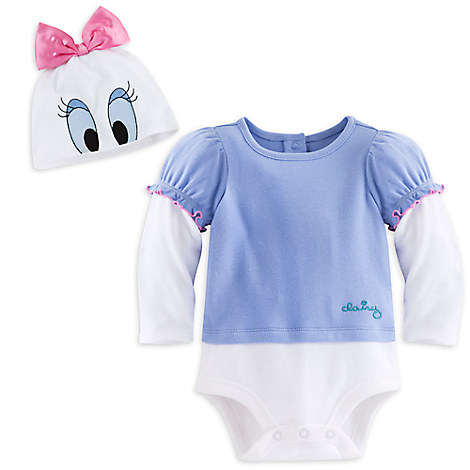 Daisy Duck Costume Bodysuit Set for Baby - Personalizable