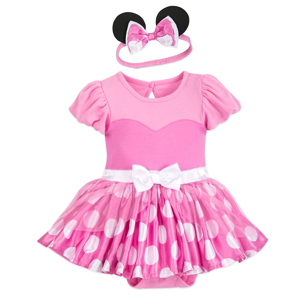 eed97ccdb4c Minnie Mouse Costume Bodysuit for Baby – Pink – Personalized