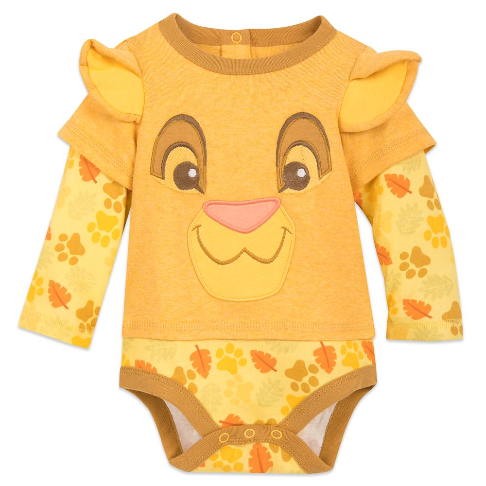 Simba Long Sleeve Bodysuit for Baby