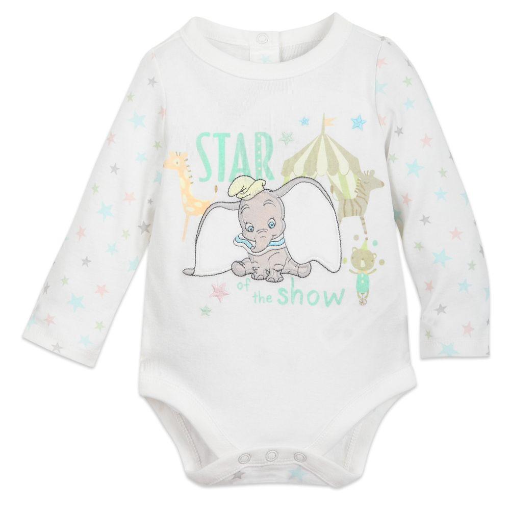 Dumbo Long Sleeve Bodysuit for Baby