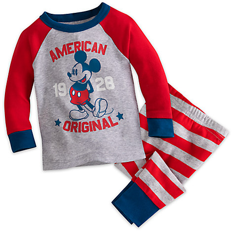 Mickey Mouse Americana PJ PALS for Baby