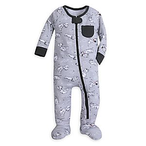 101 Dalmatians Stretchie Sleeper for Baby 4042057390741M