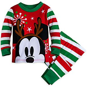 Mickey Mouse Holiday PJ PALS Set for Baby 4042057390794M