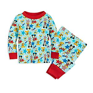 Mickey Mouse and Friends PJ PALS Set for Baby 4042057390949M