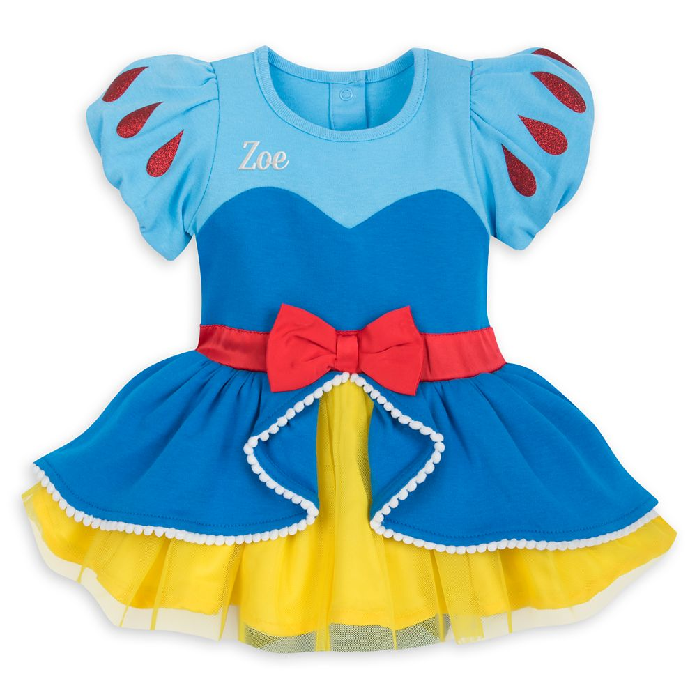 Snow White Costume Bodysuit for Baby – Personalizable