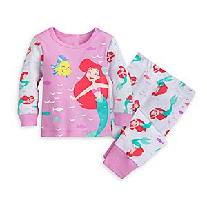 Cartoon Character Pajamas Toddler Girls And Infant Girls