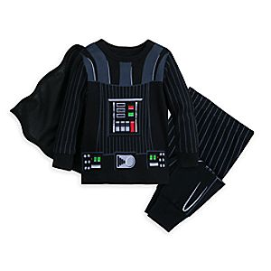 Image of Darth Vader Costume Pajamas for Baby