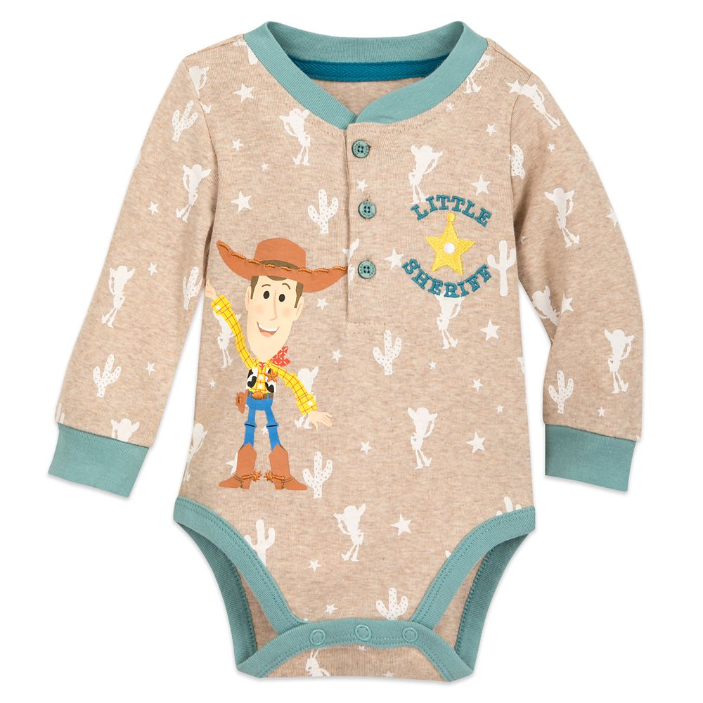 Woody Long Sleeve Bodysuit for Baby
