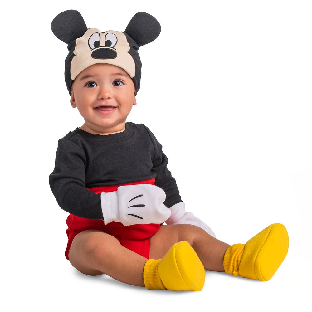 Mickey Mouse Costume Bodysuit Set for Baby
