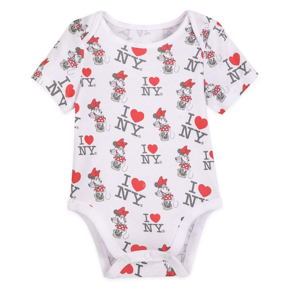 Minnie Mouse Bodysuit for Baby – New York