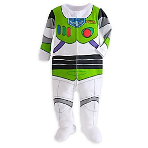 Image of Buzz Lightyear Costume Stretchie Sleeper for Baby