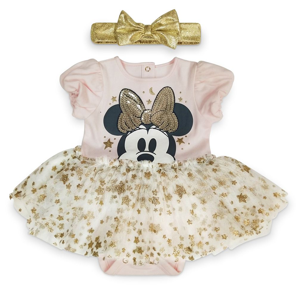Cuddle Bear Baby Girls 3M-24M Floral Bow Bubble Romper