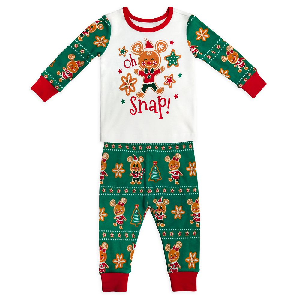 Mickey and Minnie Mouse Holiday PJ PALS for Baby