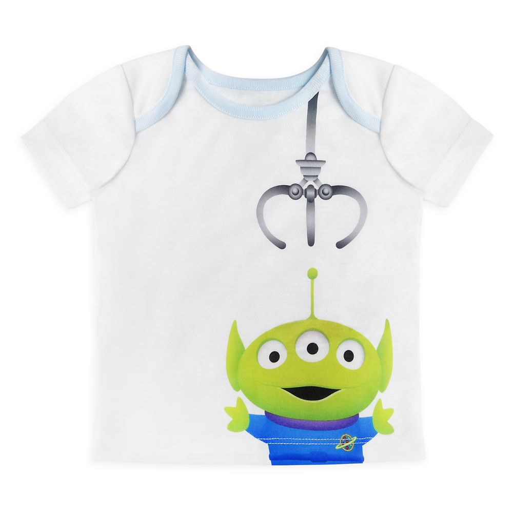 Toy Story Alien Pixar Remix Pajama Set for Baby