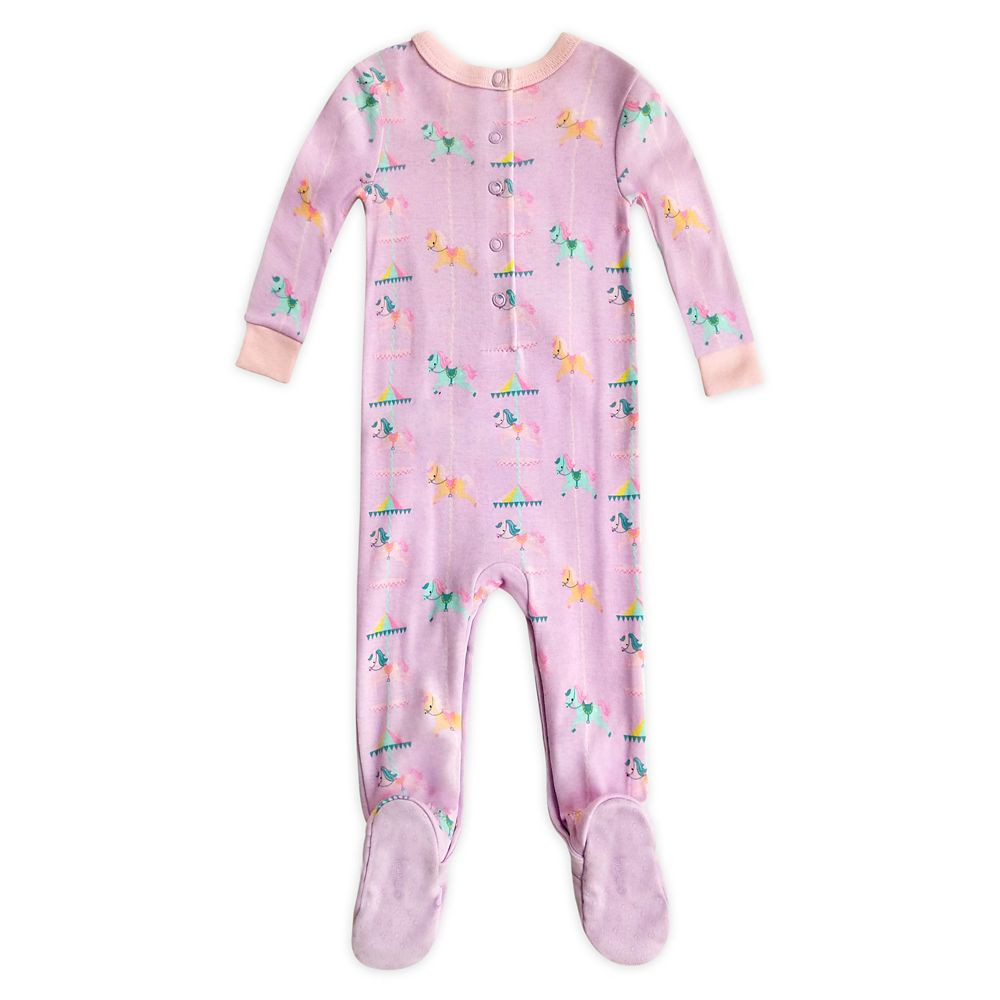 Minnie Mouse Merry-Go-Round Stretchie Sleeper for Baby