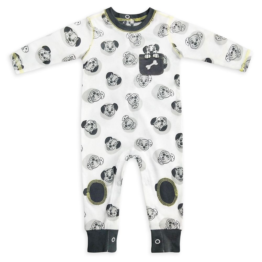 101 Dalmatians Stretchie Sleeper for Baby
