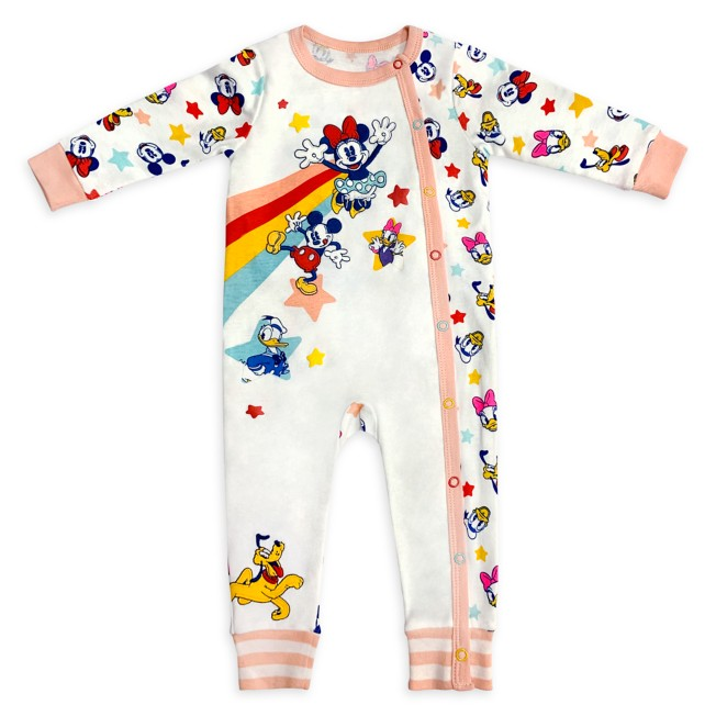 Mickey Mouse and Friends Stretchie Sleeper for Baby