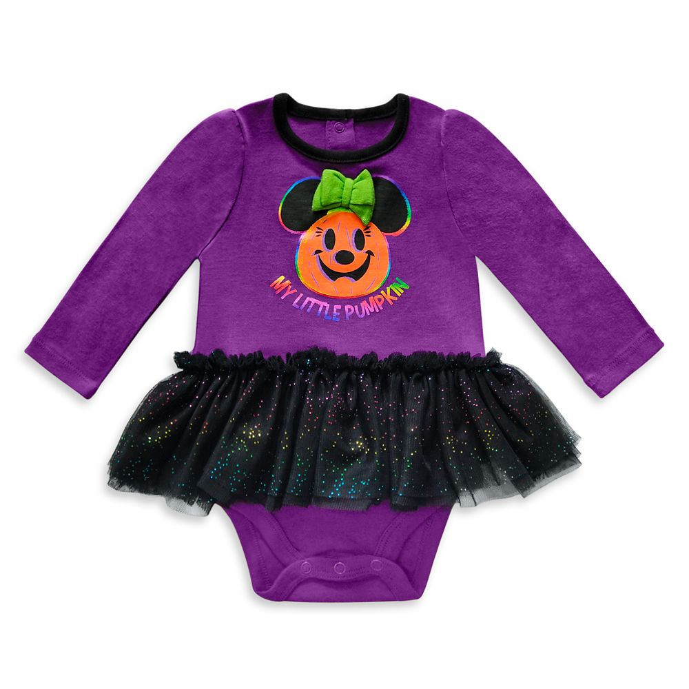 Minnie Mouse Halloween Bodysuit with Tutu for Baby Official shopDisney