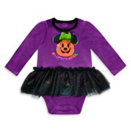 Minnie Mouse Halloween Bodysuit with Tutu for Baby