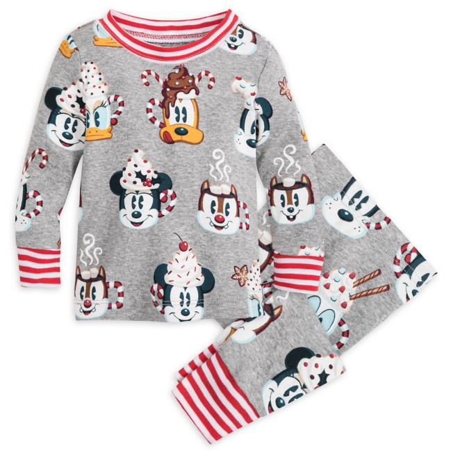 Mickey Mouse and Friends Holiday PJ PALS for Baby