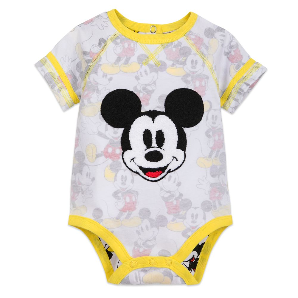 Mickey Mouse Bodysuit for Baby Official shopDisney