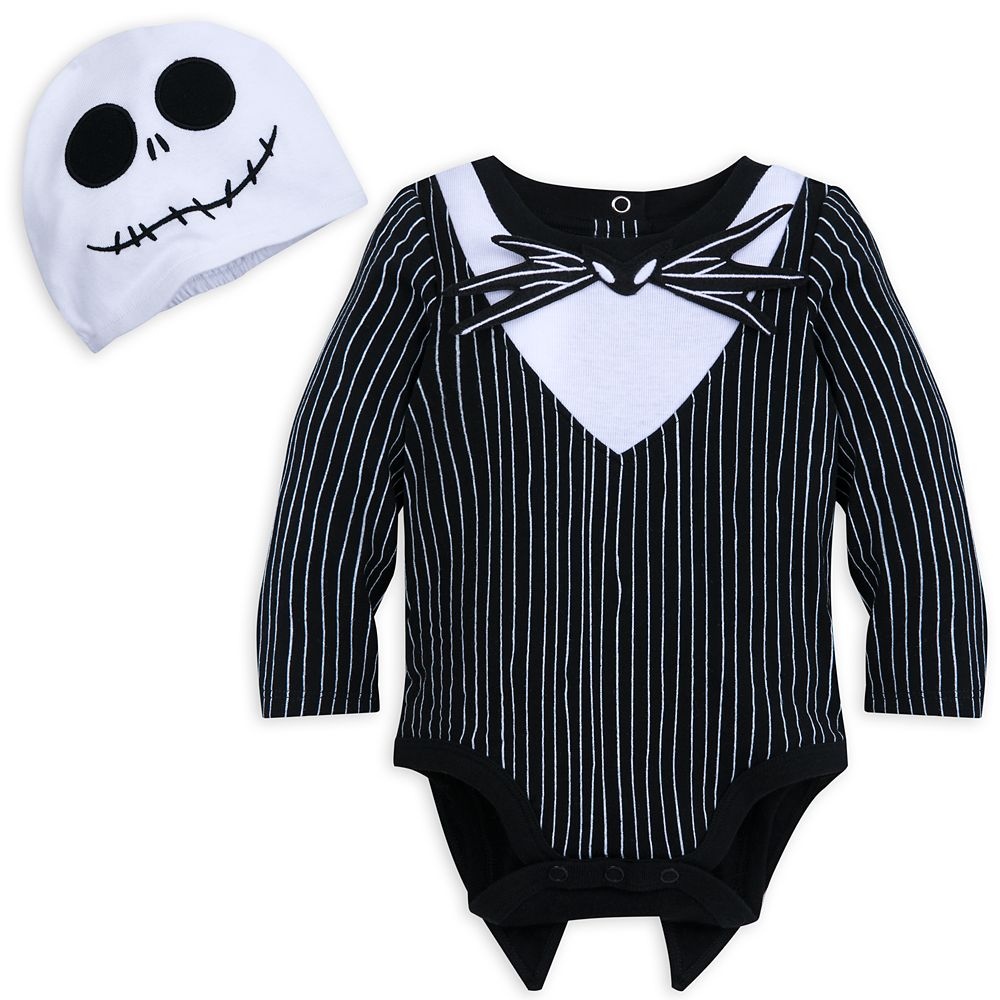 Jack Skellington Costume Bodysuit Set for Baby Official shopDisney