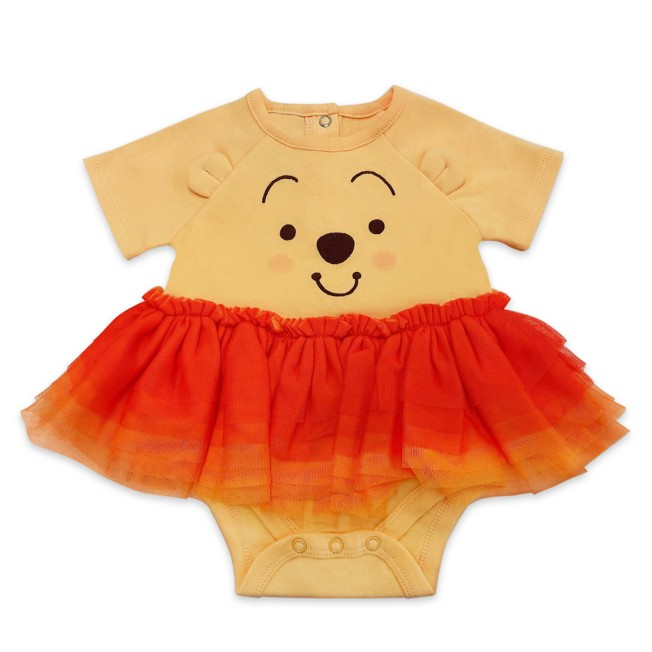 Winnie the Pooh Tutu Bodysuit for Baby
