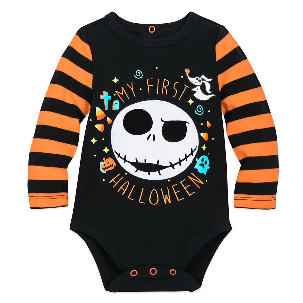 Jack Skellington Halloween Bodysuit for Baby