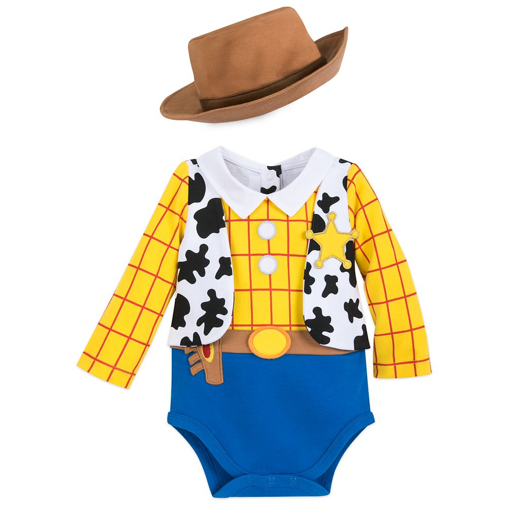 Woody Costume Bodysuit for Baby
