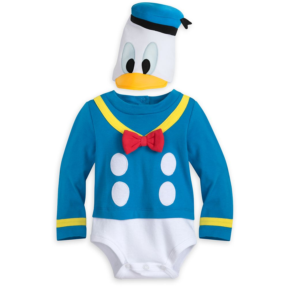Donald Duck Costume Bodysuit for Baby
