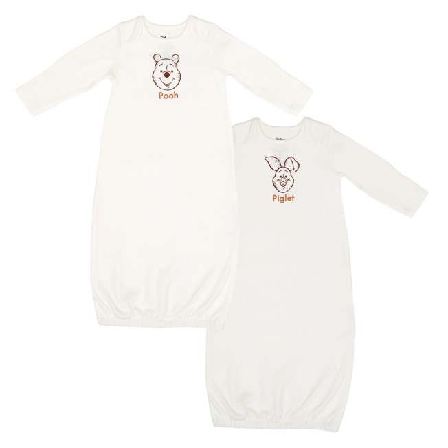 Winnie the Pooh and Piglet Sleeper Gown Set for Baby