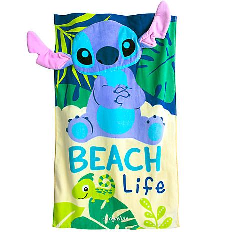 Stitch Swim Towel for Baby - Personalizable