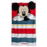 Mickey Mouse Swim Towel for Baby - Personalizable