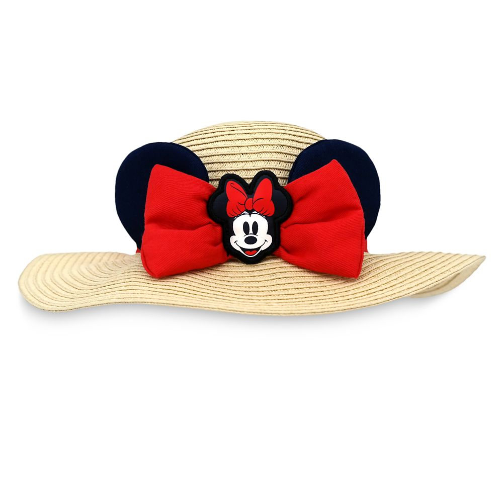 Minnie Mouse Straw Hat for Baby