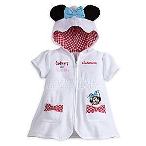 Minnie Mouse Swim Cover - Up for Baby  -  Personalizable